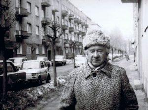 Zygmunt Wnorowski na ul. Opoczyńskiej