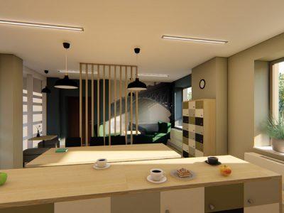 Wnętrza biur 3 WMW Architekci