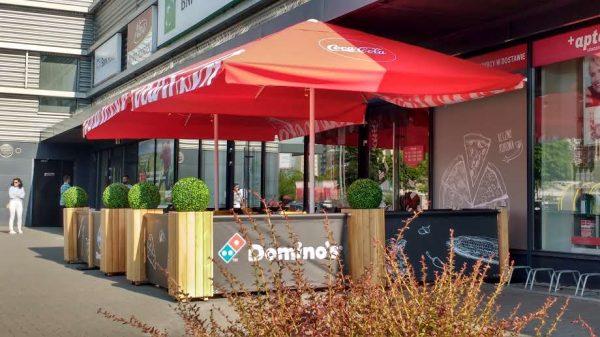 Projekt ogródka gastronomicznego